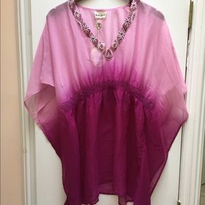 NWT Rhona Sutton Beach Cover Up